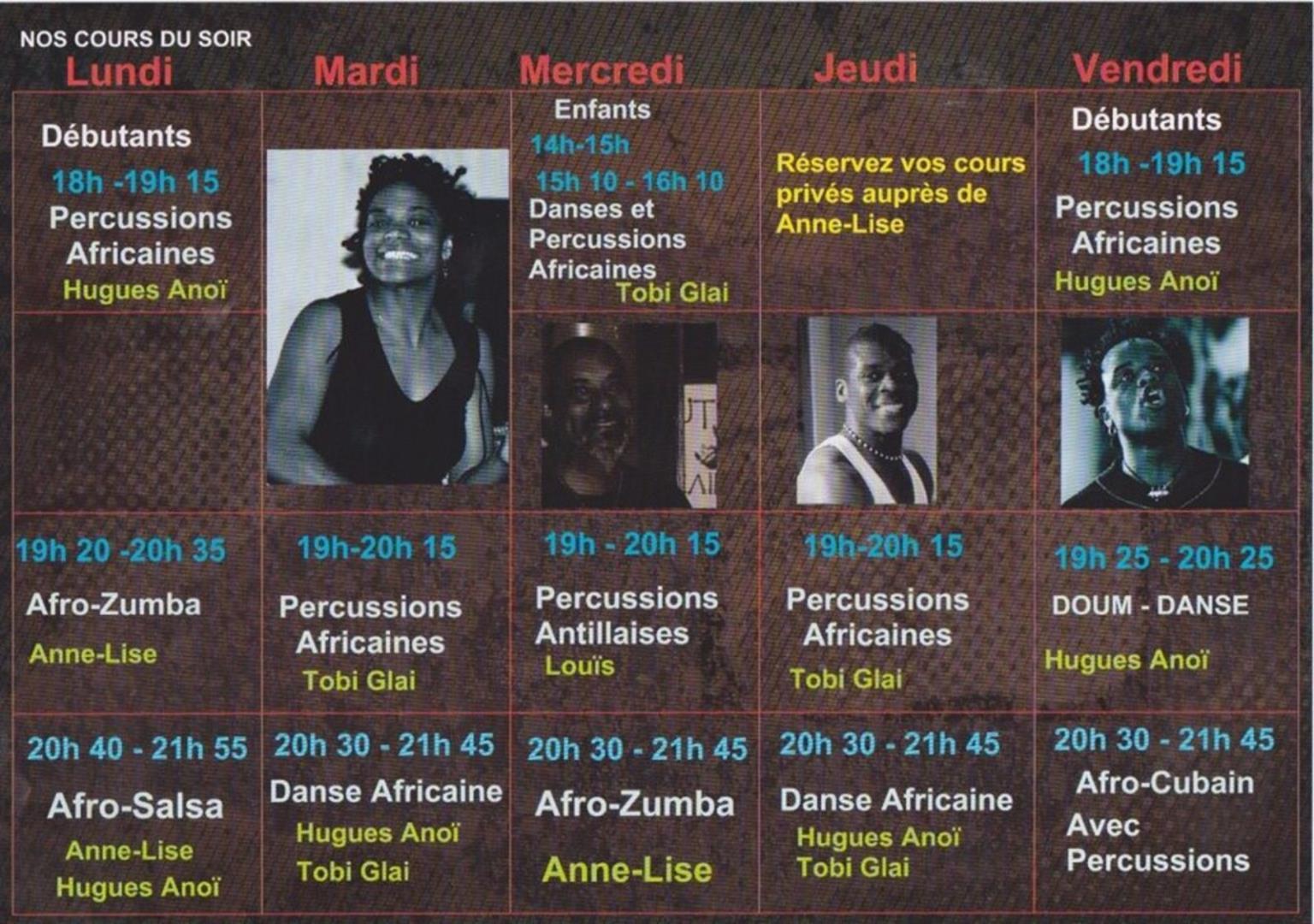 danse africaine, Afro-salsa, djembe - Idaa Dance