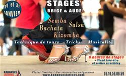 "Les ateliers ""Week End Dance"" by Brice & Aude - Association KADANSES LATINES"