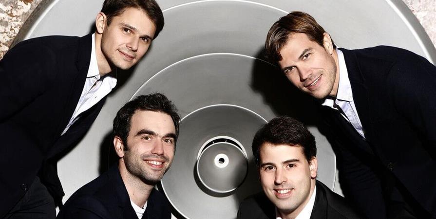 20-09-2019 : Bruyères-le-Châtel : quatuor MODIGLIANI - Les Concerts de Poche
