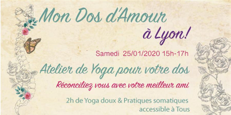 Mon Dos d'Amour Lyon Janvier - Yogami Montpellier