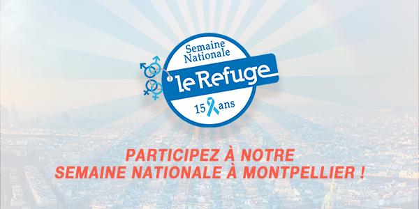 MONTPELLIER - Événements Semaine Nationale 2018 - Le Refuge