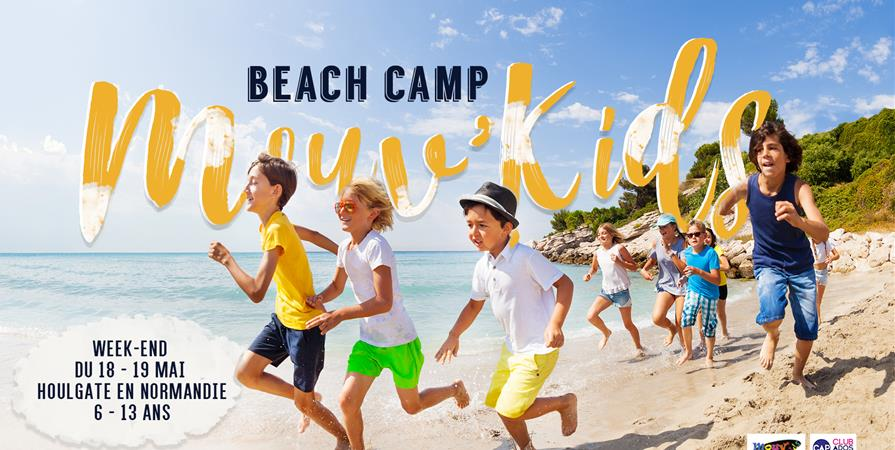 Mouv'kids - Beach Camp 2019 - ESPACE CULTUREL PARIS ROQUETTE