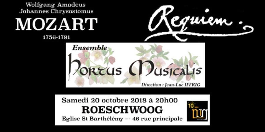 Requiem de WA MOZART - Ensemble HORTUS MUSICALIS