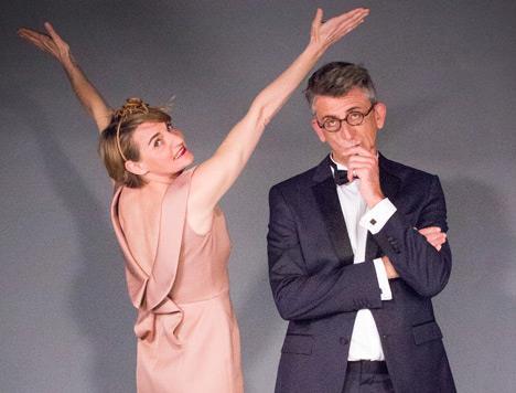 Jacqueline et Marcel jouent Music-hall de J-L Lagarce - Le Bellovidère