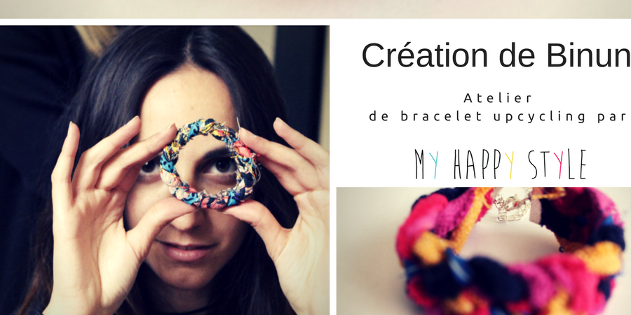 Création de bracelets upcycling  - My Happy Style