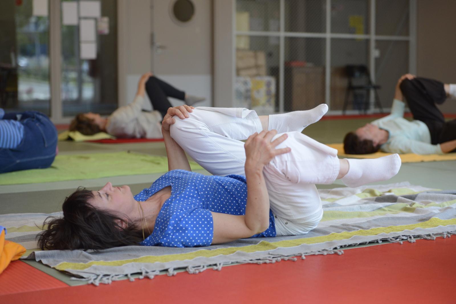 Stage thématique gym douce inspirée de la méthode Feldenkrais - Atelier du mouvement Paris