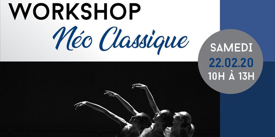 Workshop de Néo-Classique avec Petros Chrkhoyan - LADC - Danse & Forme
