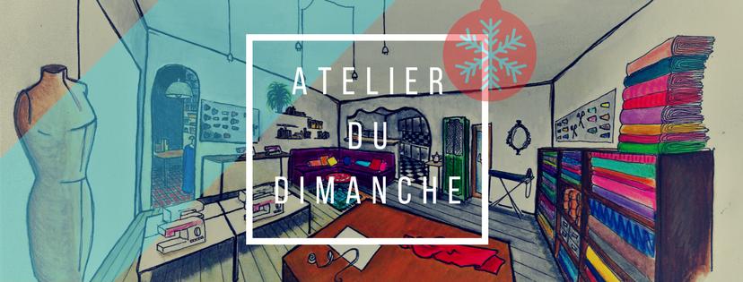 Atelier du dimanche 16 décembre 2018 - Atelier Double Boucle