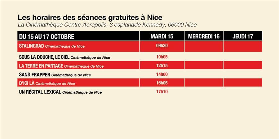 Festival du film social  Cinematheque de Nice - la 25èimage