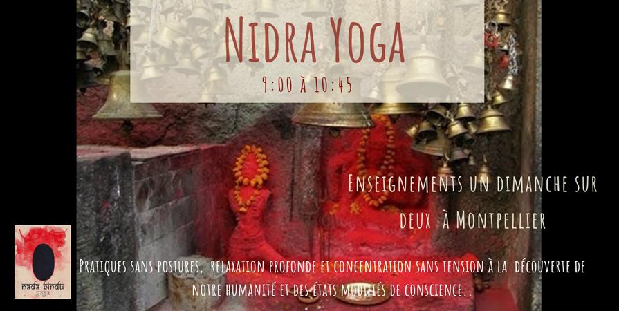 Nidra Yoga, le yoga des profondeurs - nada bindu yoga