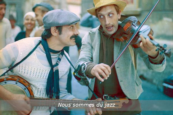 """Soirée gastronomique du cinéma russe """"Nous sommes du jazz""""  - ASSOCIATION PROJET RUSSE"""