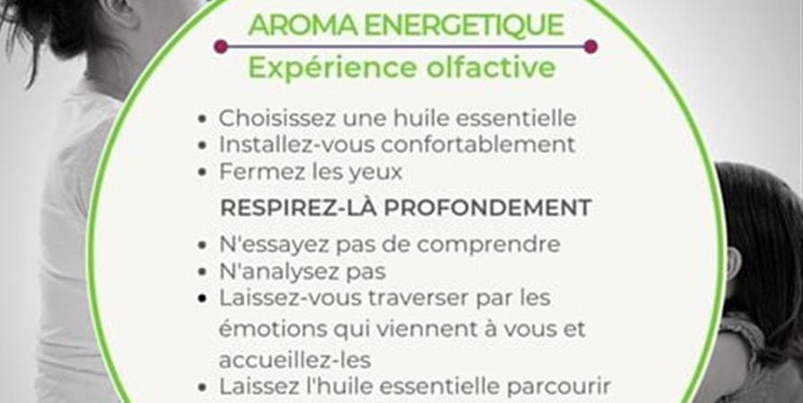 Atelier participatif: Aromathérapie vibratoire | olfactothérapie - L'essen'Ciel