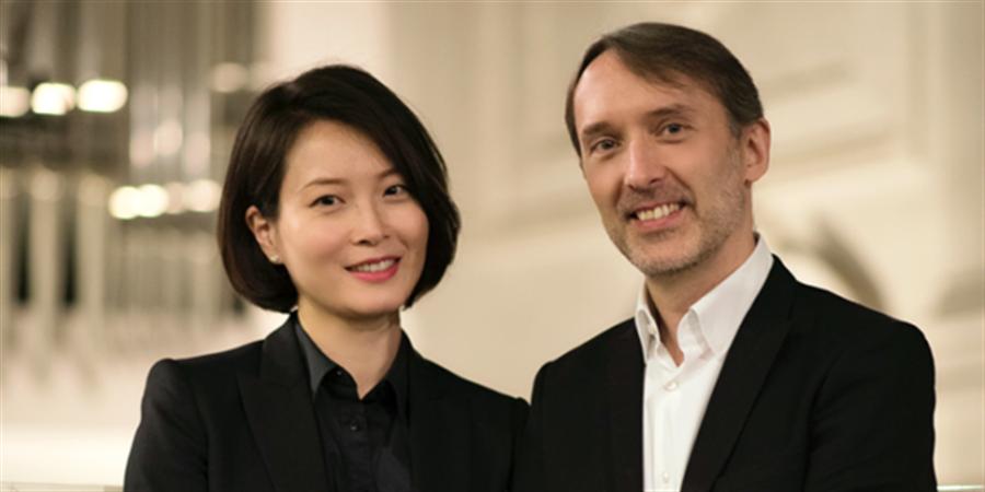 Concert d'Olivier Latry et Shin-young Lee et projections de fresques murales - ArtenetrA