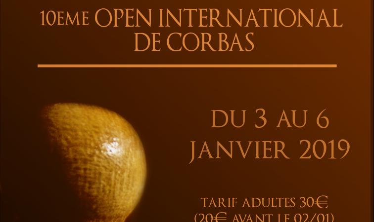 10éme Open International de Corbas - Echecs Club de CORBAS