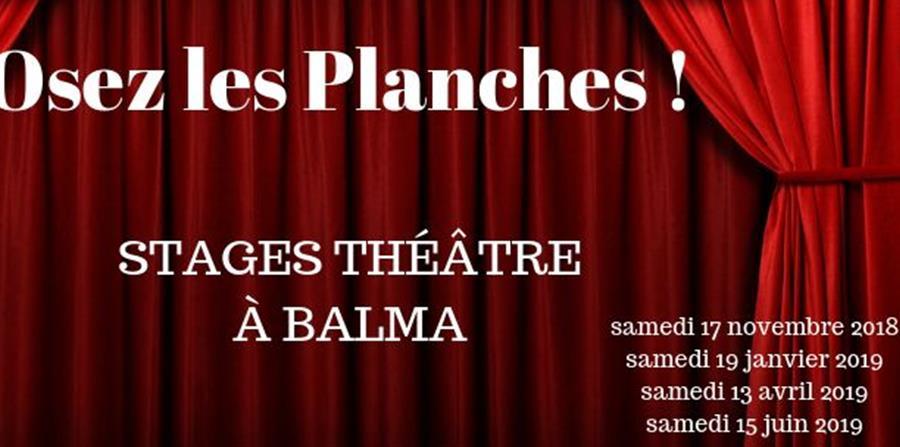Stages Théâtre Adultes - Un Nid Vers l'Envol
