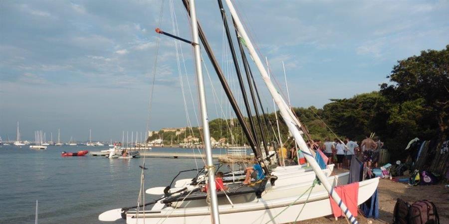 Week-End aux Iles de Lerins 2019 - Voile Espace