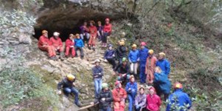 Découverte de la Spéléologie à Grotte de Pâques - Spéléo Club Garagalh