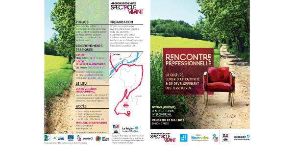 « La culture, levier d'attractivité  et de développement des territoires »  - Auvergne - Rhône - Alpes Spectacle Vivant