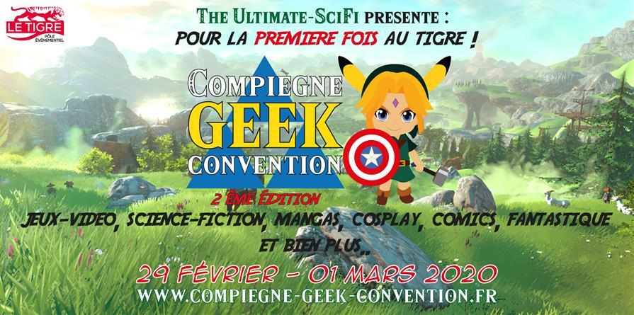 Compiègne Geek Convention 2020 - The Ultimate Sci-Fi
