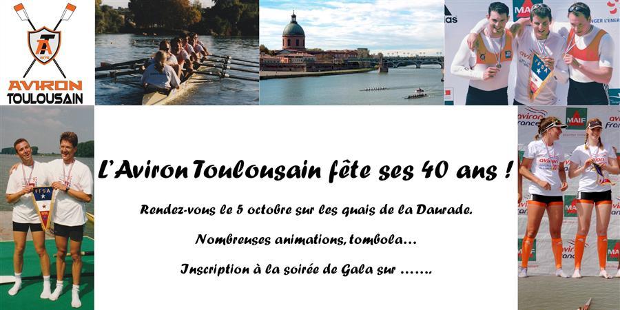 40 ans de l'Aviron Toulousain - Aviron Toulousain