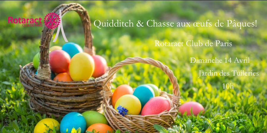Quidditch & Chasse aux oeufs de Pâques! - Rotaract Club de Paris