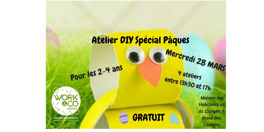 Atelier DIY Spécial Pâques! - Work&Co Nantes