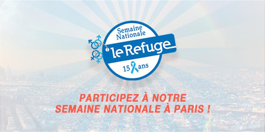 PARIS - Evénements Semaine Nationale 2018 - Le Refuge