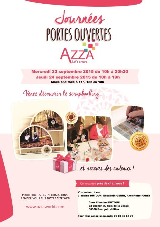 Portes Ouvertes - Scrap et cartes à Clo (Azza)