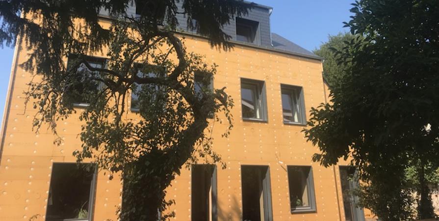 Visite d'une rénovation écologique BBC  - ARPE Normandie