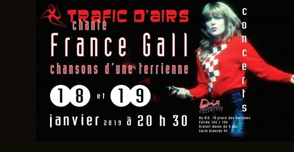 France Gall - Chansons d'une terrienne - trafic d'airs