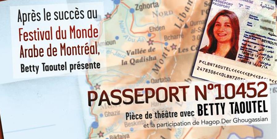 Passeport numéro 10452 - Anta Akhi France