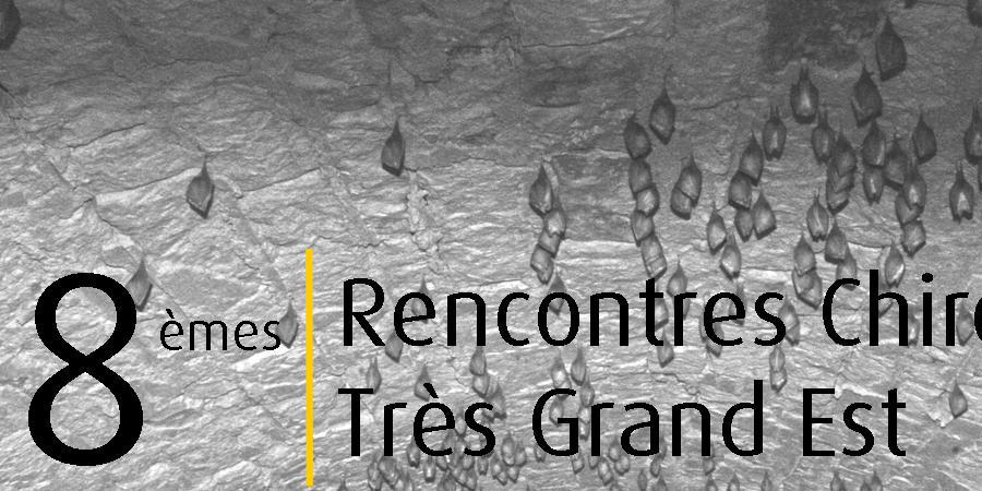 8èmes Rencontres Chiroptères Grand Est - CPEPESC