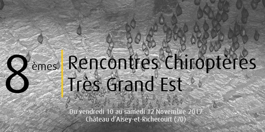 8èmes Rencontres Chiroptères Grand Est - CPEPESC