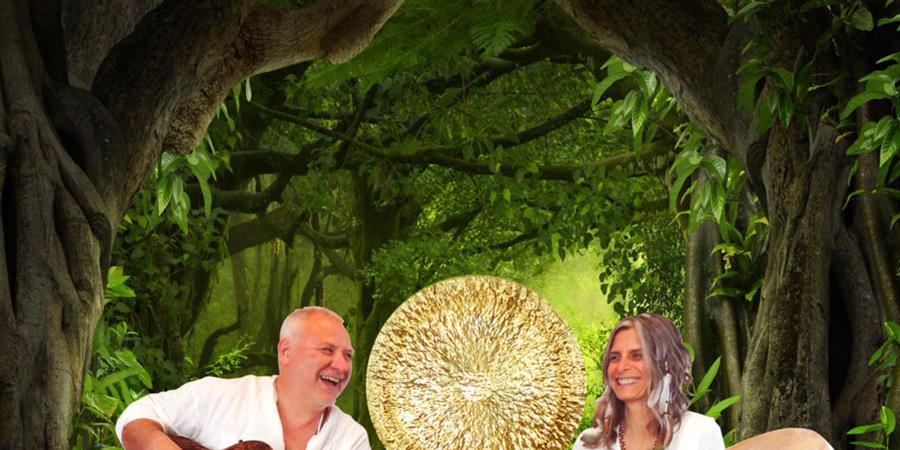 Stage chants sacrés et chamaniques du Brésil et bains de gongs en Aveyron - VOIX ET SONS DU MONDE