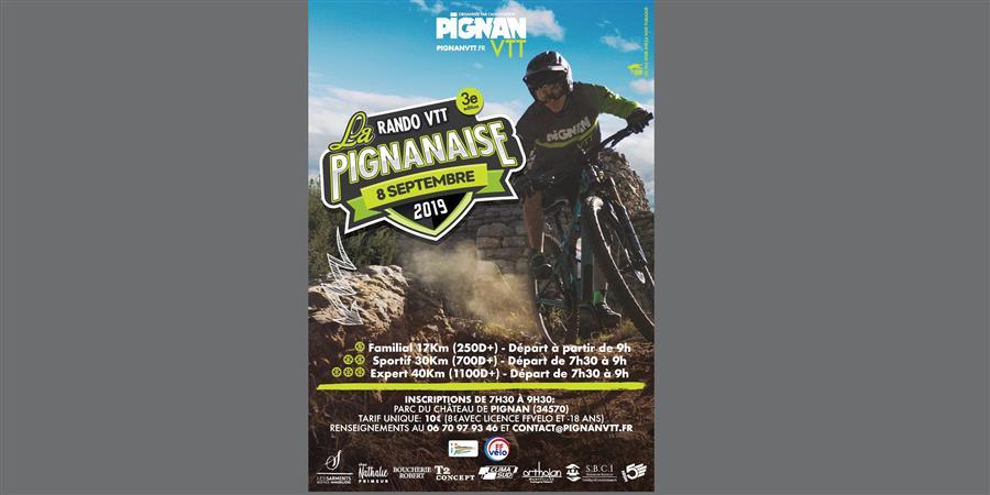 PIGNANAISE VTT 2019 - PIGNAN VTT