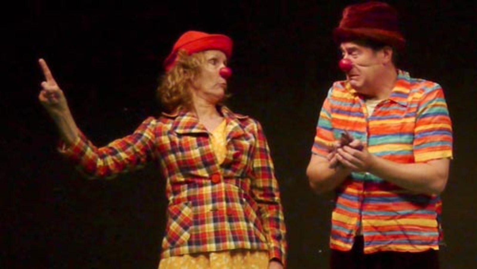 """Clown  """"lève toi et marche"""". Atelier du lundi - 20scenes-impro"""