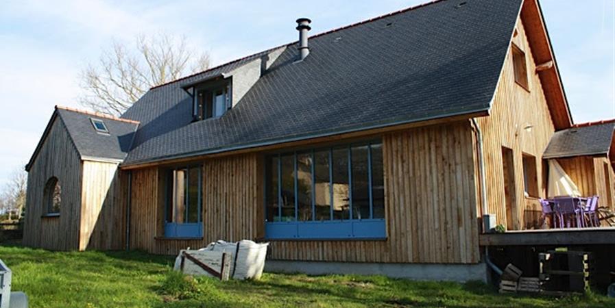 Visite maison écologique - Association Empreinte