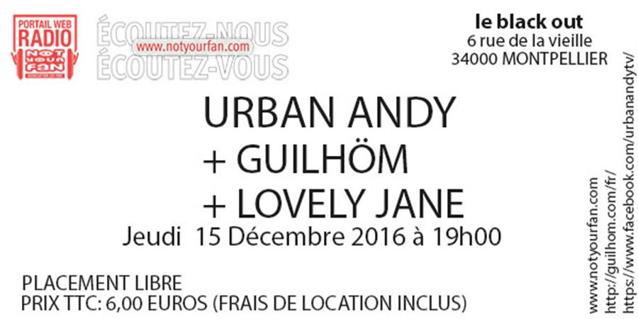 NOTYOURLIVE au Black Out le 15/12/16  - NOTYOURFAN