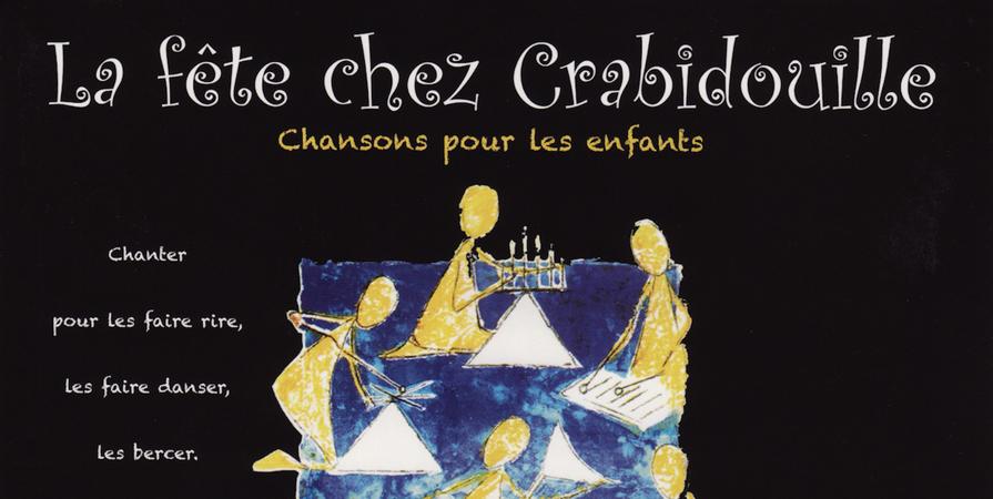 La fête chez Crabidouille - CD - GAM
