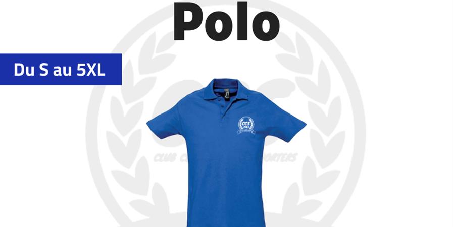 "Polo CCS  - Club Central des Supporters ""Allez Racing"""