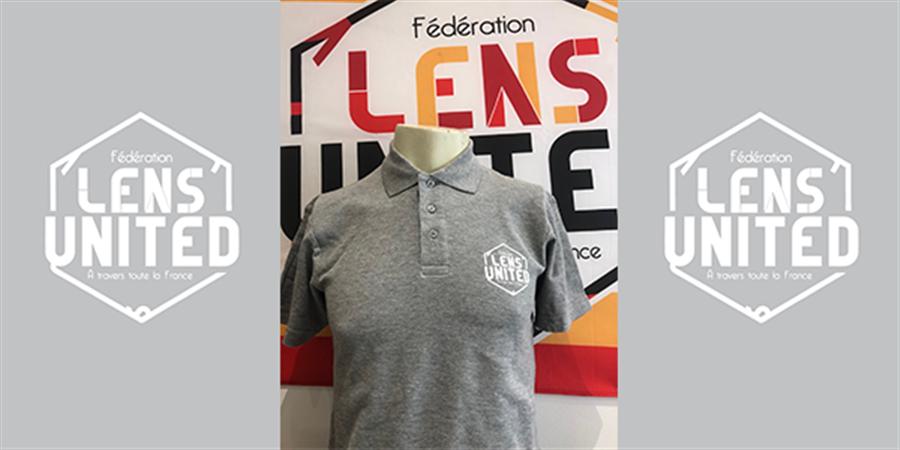 """Polo """"Lens United"""" - Fédération Lens United"""