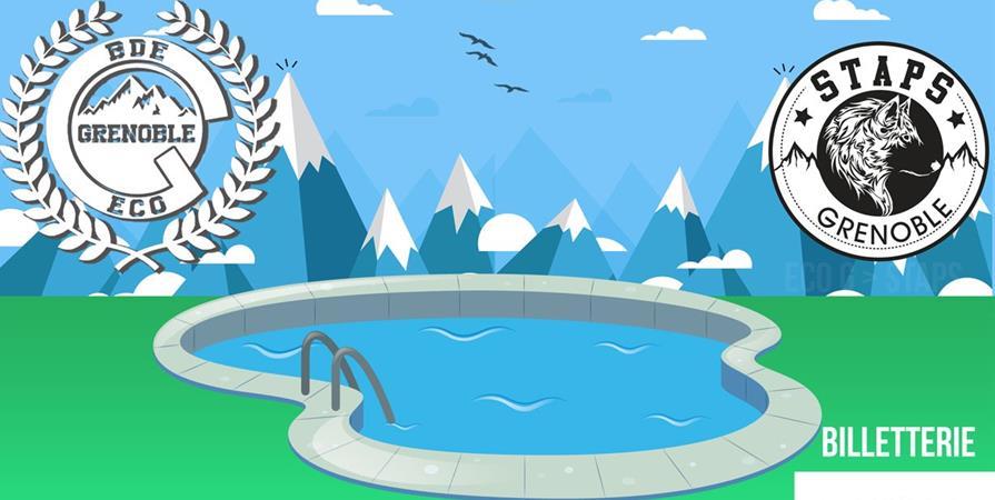 Pool party Eco-G vs STAPS - BDE Staps Grenoble