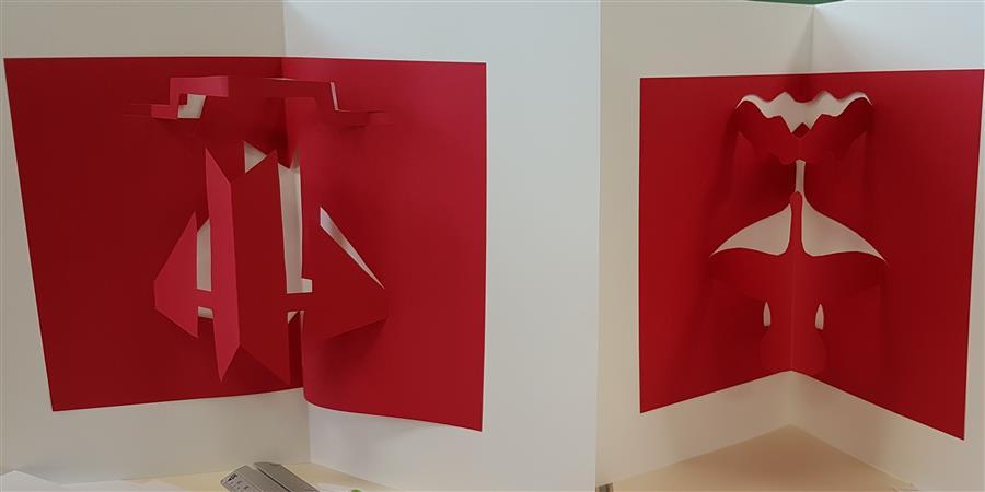 Atelier de pratique artistique : Pop Up ! - Centre d'art Le Lait