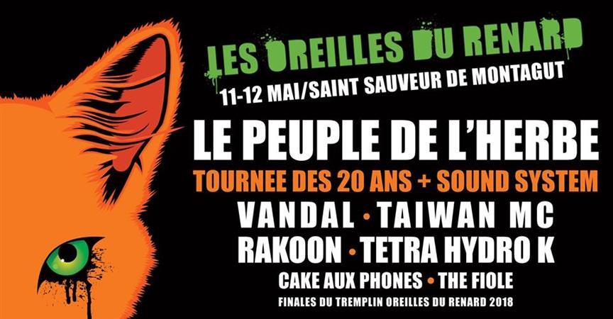Festival Les Oreilles du Renard 2018 - Union des MJC en Drôme-Ardèche