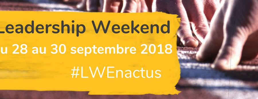 Leadership Weekend 2018 - Enactus France