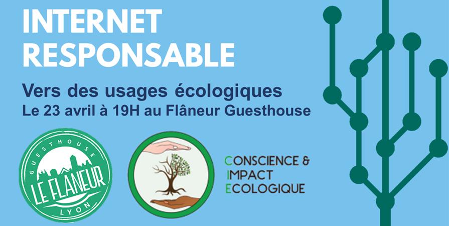 Atelier Internet responsable - Conscience et Impact Ecologique