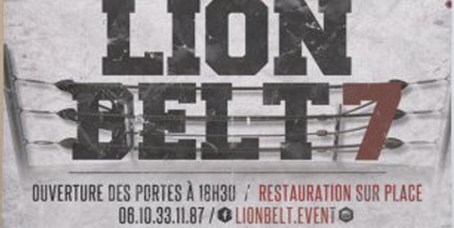 LION BELT FIGHT NIGHT 7 - Royal Team Belfort