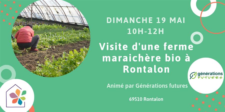 Visite d'une ferme maraichère bio à Rontalon - Maison de l'environnement
