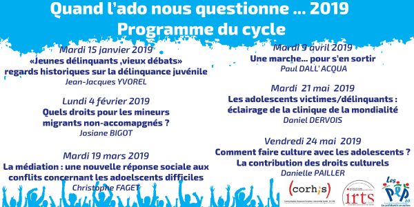 "CYCLE DE CONFERENCES ""QUAND L'ADO NOUS QUESTIONNE..."" - ADPEP 66"