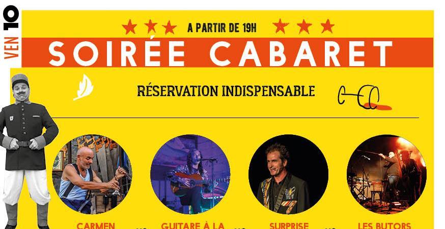 Soirée cabaret  du festival Barikôtreto, le vendredi 10 août à partir de 19 h.  - CUL-SEC